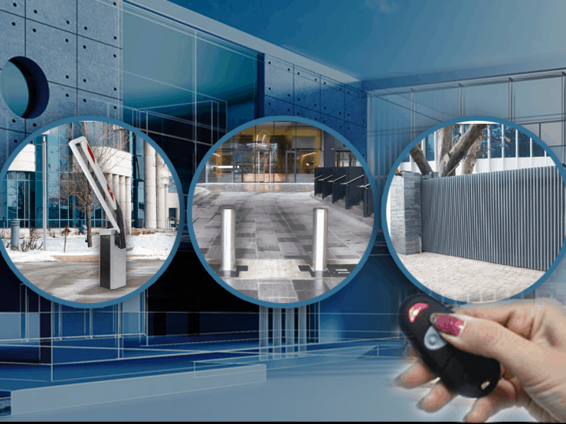 Automatic Doors for car parks and building security