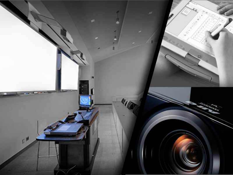 Smart screen and sound system for education